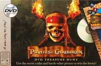 Board Game: Pirates of the Caribbean DVD Treasure Hunt