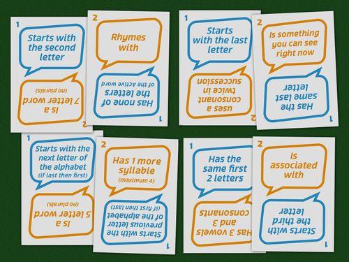Board Game: Word Chain