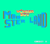 Video Game: Wonder Boy in Monster Land