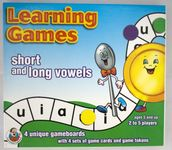 Board Game: Learning Games short and long vowels