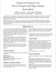 RPG Item: Focus on Freeport #10: Hell in Freeport Prestige Classes