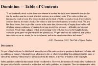RPG Item: Dominion
