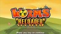Video Game: Worms: Reloaded
