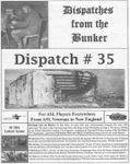 Board Game: Dispatches from the Bunker #35