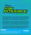 RPG Item: Disney's Kim Possible