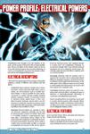 RPG Item: Power Profile #07: Electrical Powers