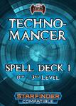 RPG Item: Technomancer Spell Deck 1 (0th: 3rd)