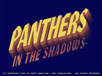 Video Game: Panthers in the Shadows
