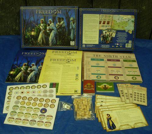 Board Game: Freedom: The Underground Railroad