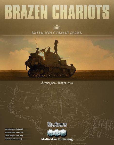 Brazen Chariots: Battles for Tobruk