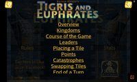 Video Game: Reiner Knizia's Tigris and Euphrates