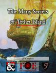 RPG Item: The Many Secrets of Tothet Island