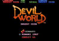 Video Game: Devil World (Arcade)