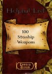 RPG Item: 100 Starship Weapons