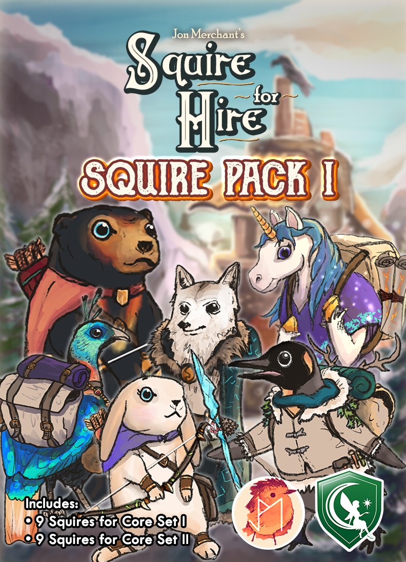 Squire for Hire: Squire Pack 1