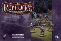 Board Game: Runewars Miniatures Game: Reanimates – Unit Expansion