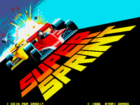Video Game: Super Sprint