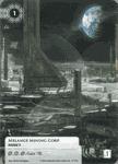 Board Game Accessory: Android: Netrunner – Alternate Art Melange Mining Corp.