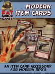 RPG Item: Modern Item Cards