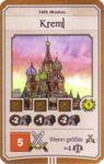 Board Game: Nations: Kremlin promo card