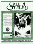 RPG Item: Call of Cthulhu (6th Edition)