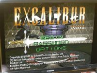 Video Game: Excalibur 2555A.D.