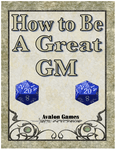 RPG Item: How to be a Great GM