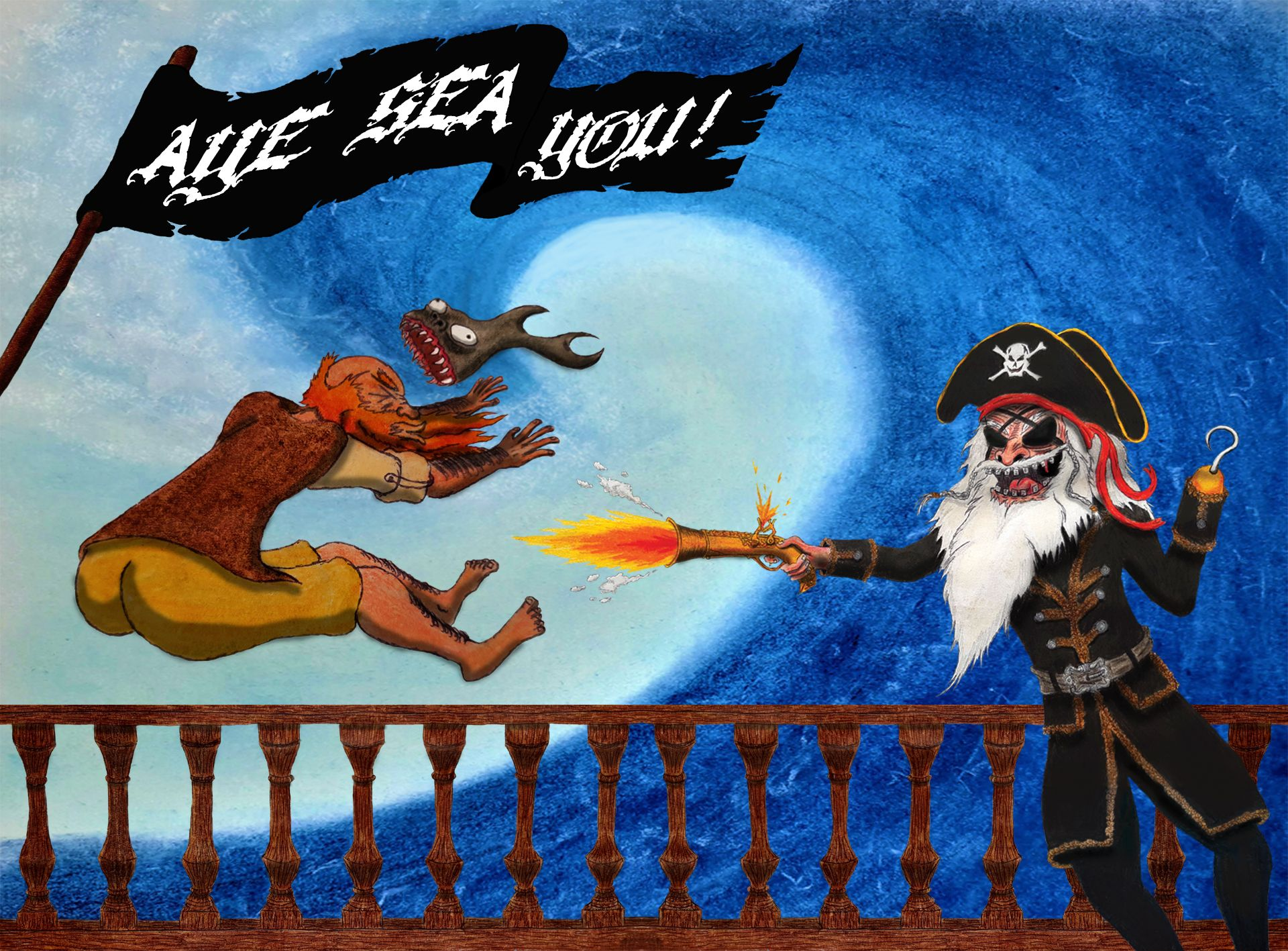 Aye Sea You!