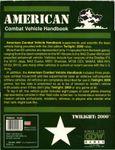 RPG Item: American Combat Vehicle Handbook