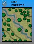 RPG Item: Map Forest 5