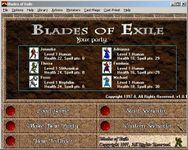 Video Game: Blades of Exile