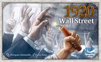 Board Game: 1920 Wall Street