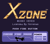 Video Game: X-Zone