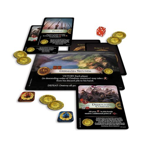 Board Game: Germania Magna: Border in Flames
