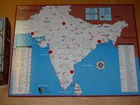 Board Game: India Rails