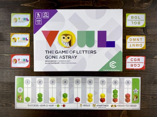 Board Game: Vowl