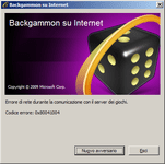 Video Game: Internet Backgammon