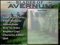 Video Game: Blades of Avernum