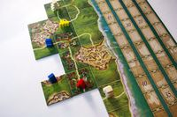 Board Game: New World: A Carcassonne Game