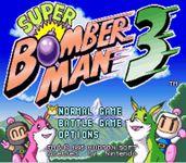 Video Game: Super Bomberman 3