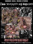 RPG Item: Apocolypse 15mm: Newspapers & Magazine Debris