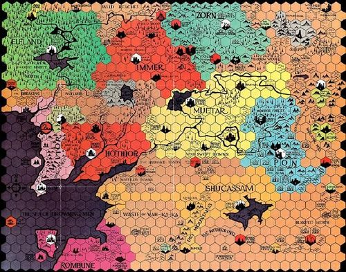 Divine Right mapboard (TSR version)