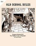 RPG Item: Dungeon Module EG1: The Hidden Tomb of Nephabti
