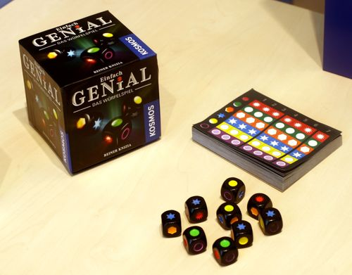 Board Game: Einfach Genial: Das Würfelspiel