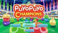 Video Game: Puyo Puyo Champions