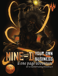 RPG Item: Mine-d Your Own Business (13th Age)