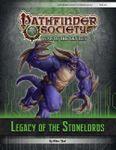 RPG Item: Pathfinder Society Scenario 6-00: Legacy of the Stonelords