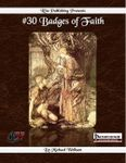 RPG Item: #30 Badges of Faith