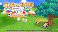 Video Game: Story of Seasons: Friends of Mineral Town