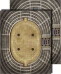 RPG Item: GameMastery Flip-Mat: Arena